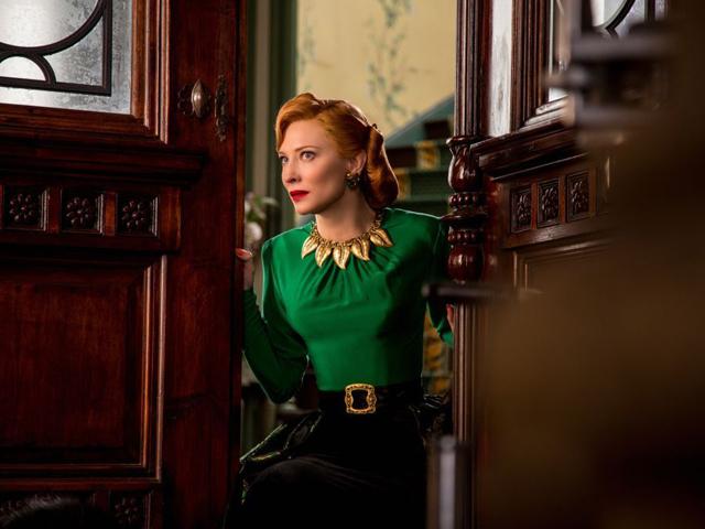 """A madrasta má de """"Cinderela"""", vivida por Cate Blanchett    Crédito: Divulgação"""