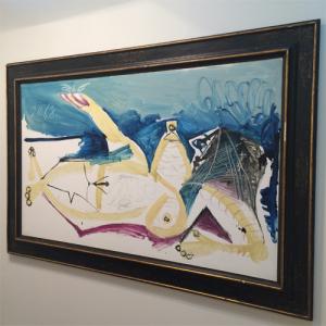 Obra de Picasso é a mais valiosa da SP-Arte. Glamurama mostra