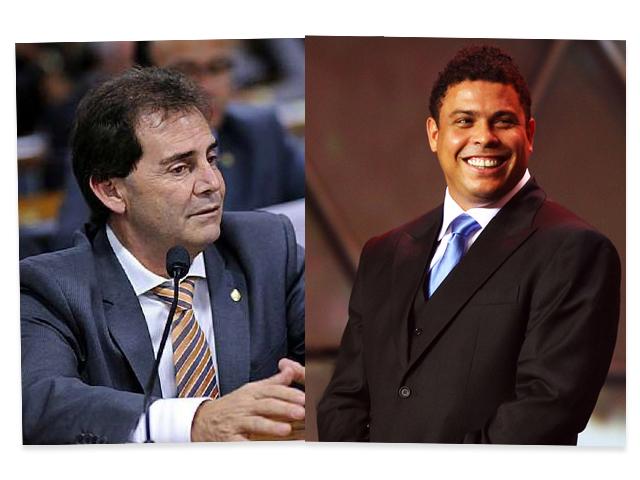 Paulinho da Força e Ronaldo || Crédito: Reprodução Facebook/ Divulgação