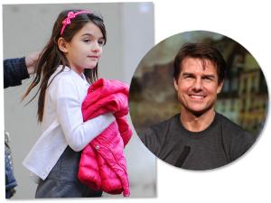 Tom Cruise não vê Suri há quase um ano… É o que dizem!