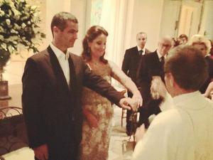 Missa e jantar: as bodas de prata de Adriana e Romeu Trussardi