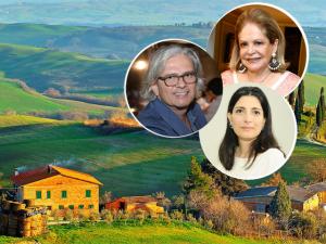 Famílias Jacintho, Elias e Derani passam temporada na Toscana