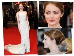 O banho de estilo de Emma Stone no red carpet de Cannes