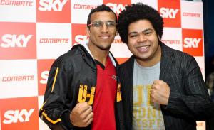 SKY e Combate recebem convidados para a luta entre Vitor Belfort e Chris Weidman