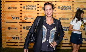 O selo de experiência musical Corona Sunsets no Rio de Janeiro