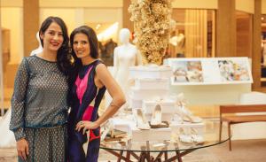 Aline Almeida Prado abriu exposição no Espaço Fashion do Shopping Iguatemi