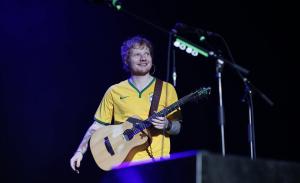 Sasha, Bruna Marquezine e mais em show de Ed Sheeran