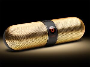 Queremos tipo já: os speakers em ouro 24k da Beats