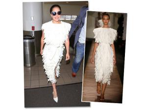Lady Gaga desembarca em Los Angeles vestindo certa estilista brasileira. Quem?
