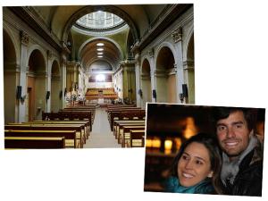 Antônia de Sá Cavalcante e Gabriel Borges rumo ao altar em Paris