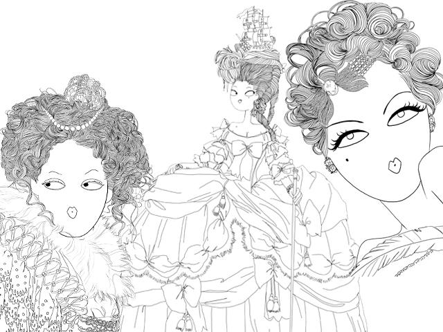 estilista lança livro para colorir sobre a história da moda glamurama