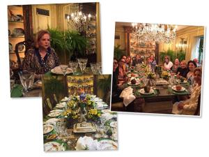 Vanda Jacintho comemora aniversário com clube da luluzinha