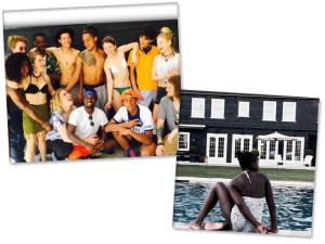 Madonna e filhos dão um show de diversão nos Hamptons