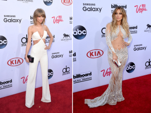 O red carpet mais mostra do que esconde no Billboard 2015