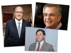 Alckmin: entre Andrea Matarazzo e David Uip para a prefeitura