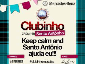 Turma do Clubinho entra no clima junino e arma arraial de Santo Antônho!