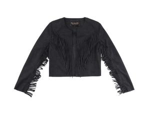 Jaqueta de franjas para balançar e esquentar este outono