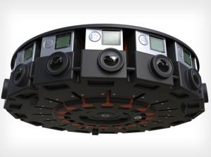 Google cria aparelho para esportes radicais que filma em 360º