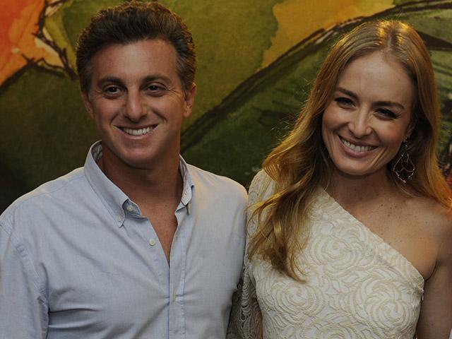 Angélica e Luciano Huck levaram um susto com pane no avião  ||  Créditos: TV Globo / Divulgação