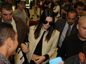 Ela chegou! As 24 horas de Kendall Jenner em São Paulo
