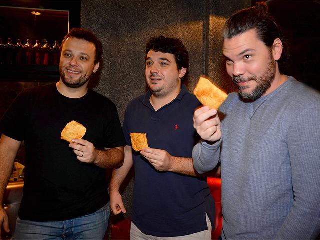 Thomas Troisgros, Rafa Costa e Silva e Pedro de Artagão || Créditos: Juliana Rezende