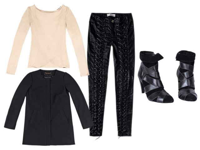 7e2801719405a Calça de couro + sobretudo para dar elegância aos dias frios – Glamurama
