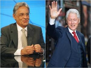 FHC e Clinton dividem as atenções em evento de poderosos em NY