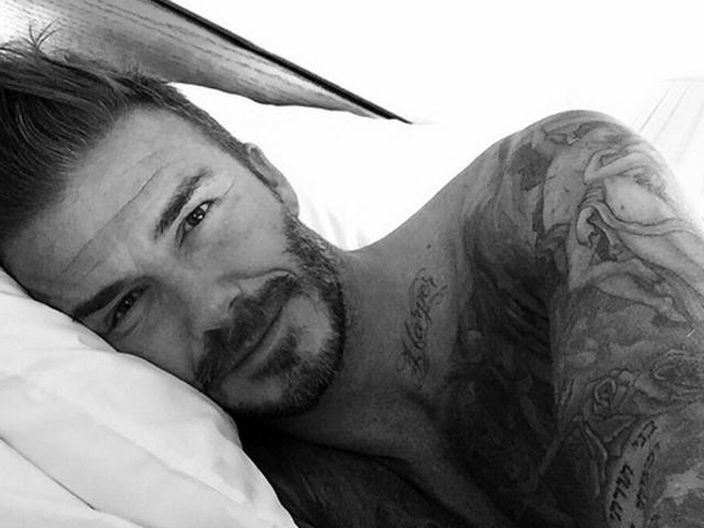 O primeiro post de David Beckham no Instagram  ||  Créditos: Reprodução Instagram