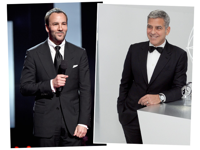 Tom Ford e George Clooney: briga ou agenda?   ||  Créditos: Getty Images