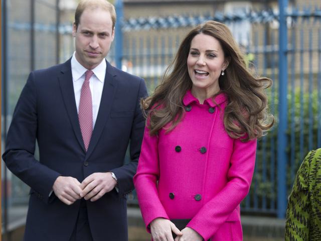 Príncipe William e Kate Middleton: papais de novo    Créditos: Getty Images