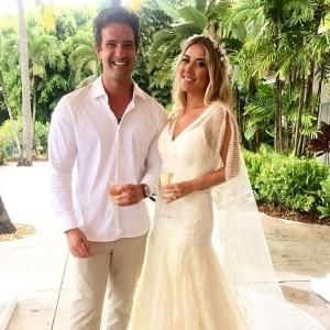 Mica Rocha completa maratona de casamento nas Bahamas