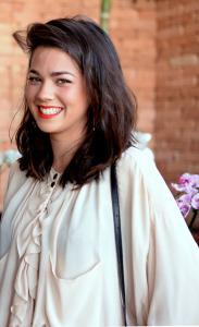 Julia Monteiro de Carvalho recebe glamurettes em almoço