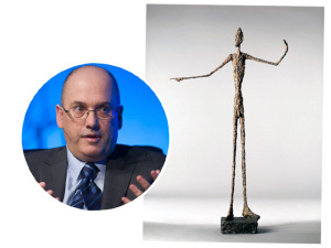 Obra de Alberto Giacometti é vendida por R$ 440 milhões
