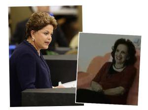 Mãe de Dilma Rousseff celebra aniversário com chá da tarde