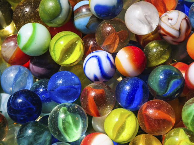 Old Glass Marbles