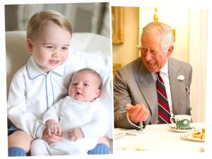 Príncipe Charles se derrete pela neta Charlotte. À confissão!