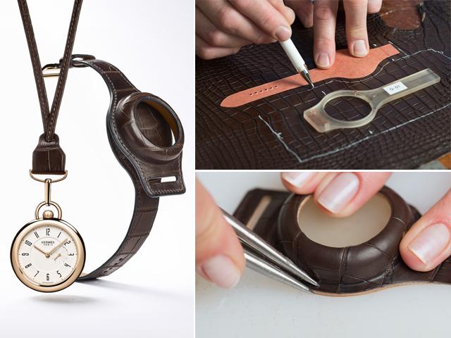 Hermès: linha especial de relógio de bolso || Créditos: Divulgação