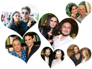 Glamurama 15 anos: na semana dos namorados, 15 casais que a gente adora