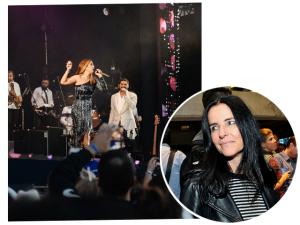 Jantar chez Monique Gardenberg comemora sucesso de turnê