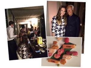 Exclusivo: Glamurama em jantar chez Giorgio Armani em Saint Tropez