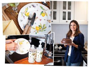 A arte de cozinhar e receber por Luiza Zaidan e Tania Bulhões. Play!