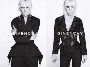 Givenchy lança campanha estrelada por Donatella Versace