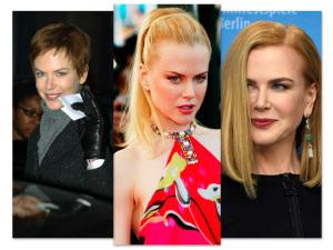 A evolução da beleza de Nicole Kidman no dia do aniversário da atriz