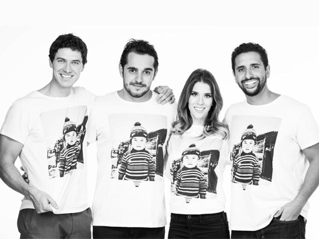 Time da ação: Luiz Perez, Felipe Lombardi, Paula Brofman e Gabriel Wickbold || Crédito: Divulgação