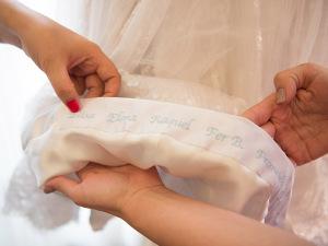 Sandro Barros entrega superstição da clientela no dia do casamento