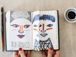 Na J.P, glamurettes que se inspiram com caneta e papel na mão