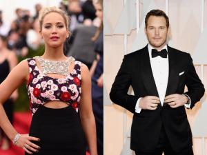 Par romântico, Jennifer Lawrence vai ganhar o dobro de Chris Pratt