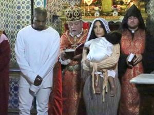 Kim Kardashian posta fotos inéditas do batizado de North West em Jerusalém