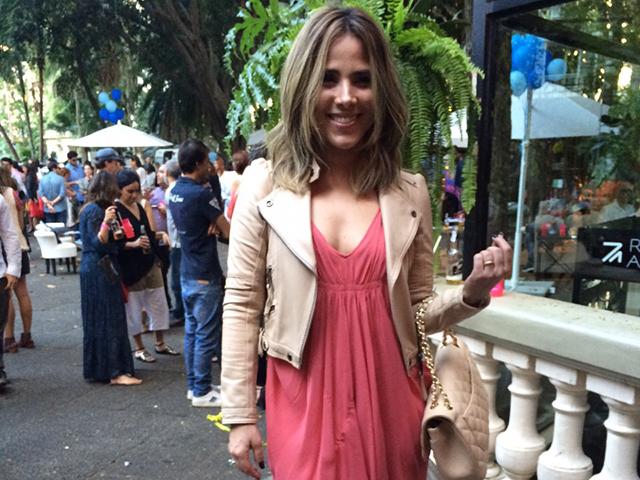 Wanessa na festa dos 15 anos do Glamurama     Céditos: Glamurama