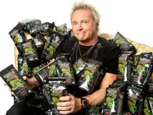 Baterista do Aerosmith faz sucesso com marca de café gourmet